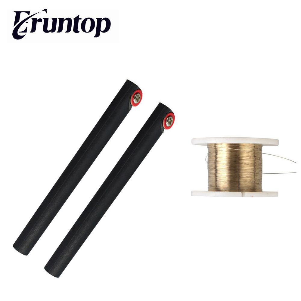 1PCS 0.08mm 100m Molybdenum Wire LCD Cutting Line With Handle Bar For Iphone Glass Separator Repair
