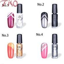 1 Pcs 14 color Nail Base Gel Professional Nail Art Paint Liner Varnish Makeup Glitter Liquid Nail Polish