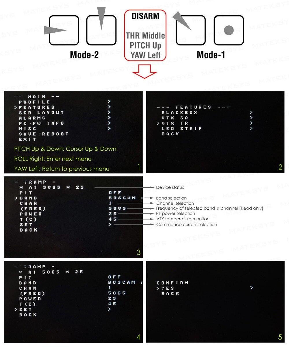 Mateksys FCHUB VTX 6 ~ 27V PDB