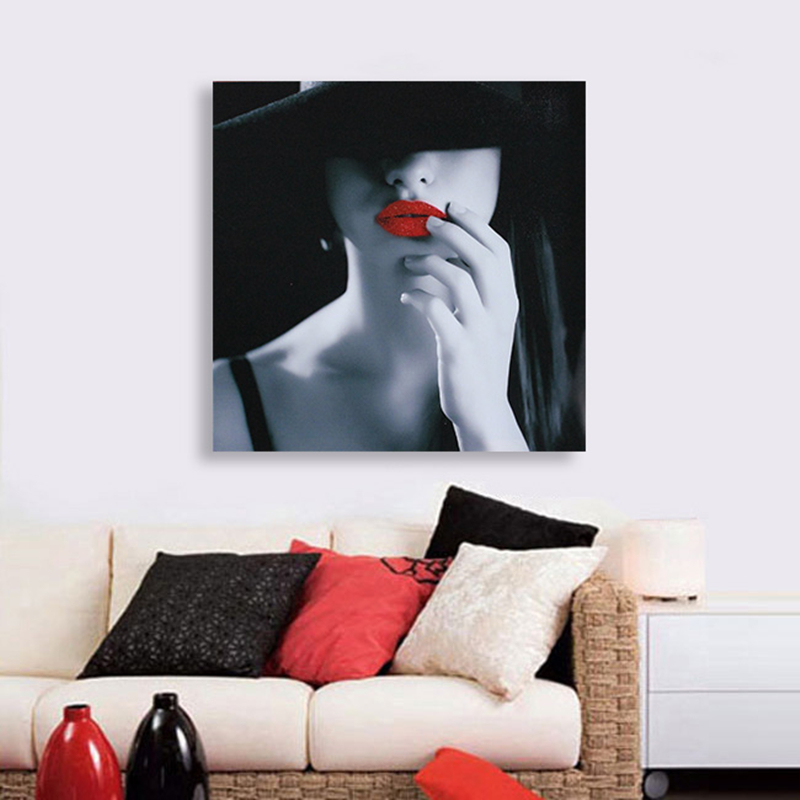VILEAD Unframed Sexy Lady Decoration Wall Paintings Calligraphy Oil Paintings Art Pictures on Canvas for Living Room in Painting Calligraphy from Home Garden