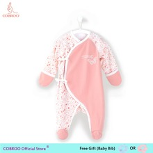 Newborn Baby Girl Clothes 0 3 Month Footies Long-sleeve 2018 New Infant Clothes Baby Girl Boy Jumpsuit Floral 150082 salepicturesque childhood 2018 newborn baby boy clothes cotton long sleeve baby boy footies stripe sailing shark print blue