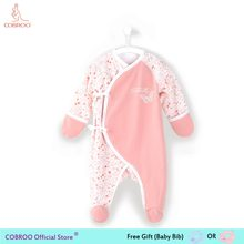 Newborn Baby Girl Clothes 0 3 Month Footies Long-sleeve 2018 New Infant Clothes Baby Girl Boy Jumpsuit Floral 150082(China)