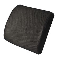 Lumbar Back Support Cushion Pillow Memory sponge Waist for Office Home Chair Car Seat Random Color
