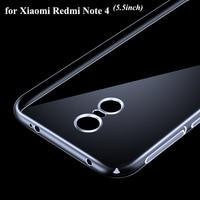 20PCS X Original Case For Xiaomi Redmi Note 4 Soft Gel TPU Case Hongmi Redrice Note