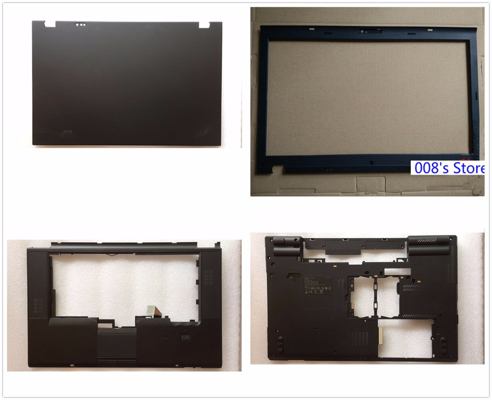 New Cover For Lenovo ThinkPad T520 T520I W520 04W1368 04W0606 04X3737 Laptop LCD Top Back/Front Bezel/Palmrest/Bottom Base/Case
