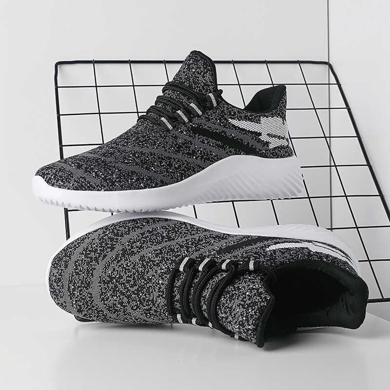 PUPUDA Mesh Atmungsaktiv Männer Casual Schuhe Mode Lässig Turnschuhe Männer Leichte Laufschuhe Sport Schuhe Männlichen Breiten Neue Trend Turnschuhe
