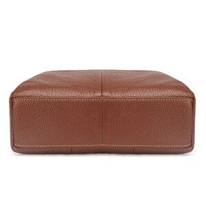 Image 4 - Женская сумка мессенджер из 100% натуральной воловьей кожи, винтажная маленькая сумка через плечо для девушек, мм2315