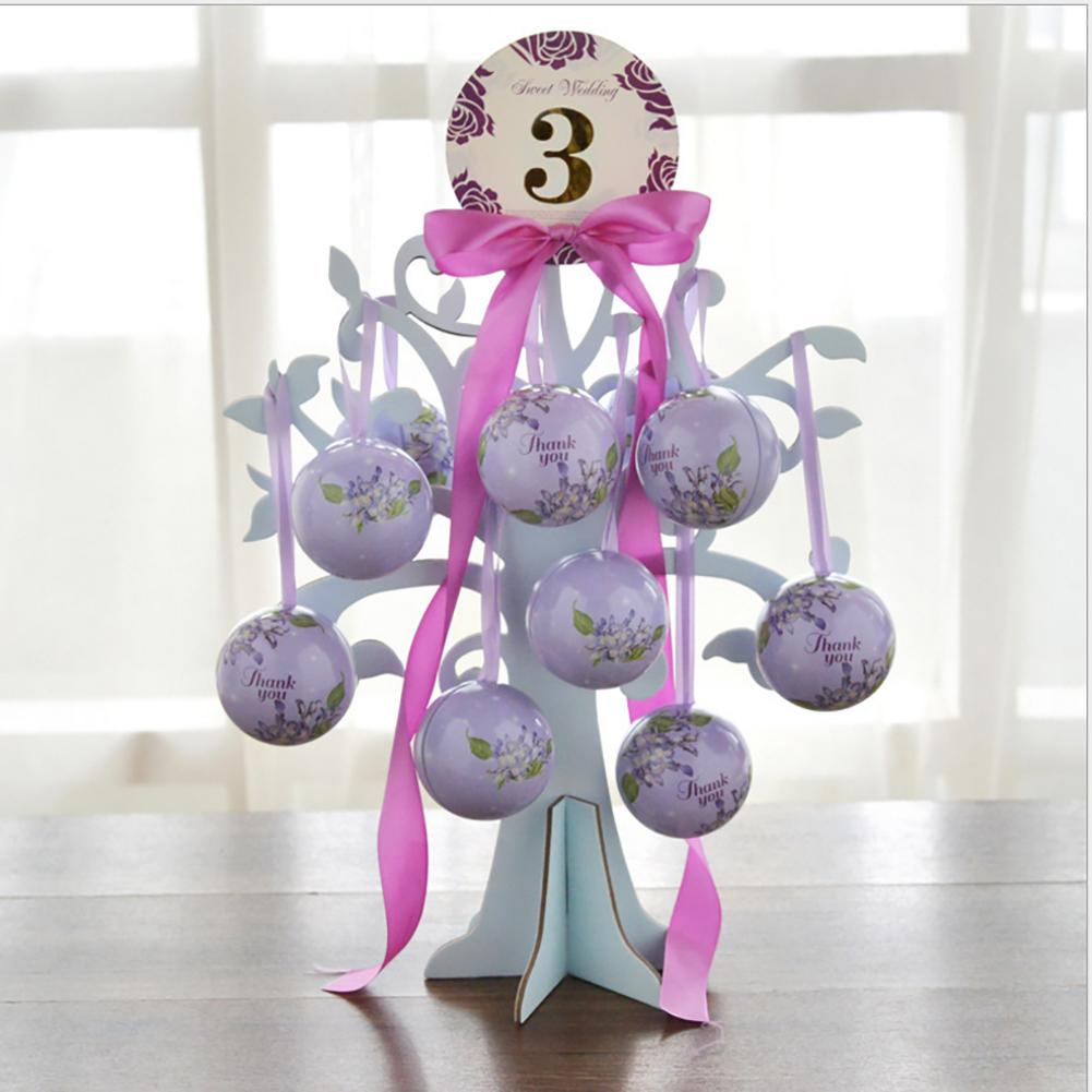 Love Tree Wedding Candy Box Innovative Spherical Candy Bag
