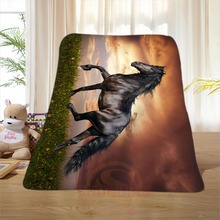 P#82 Custom Horse#82 Home Decoration Bedroom Supplies Soft Blanket size 58×80,50X60,40X50inch SQ01016@H+82