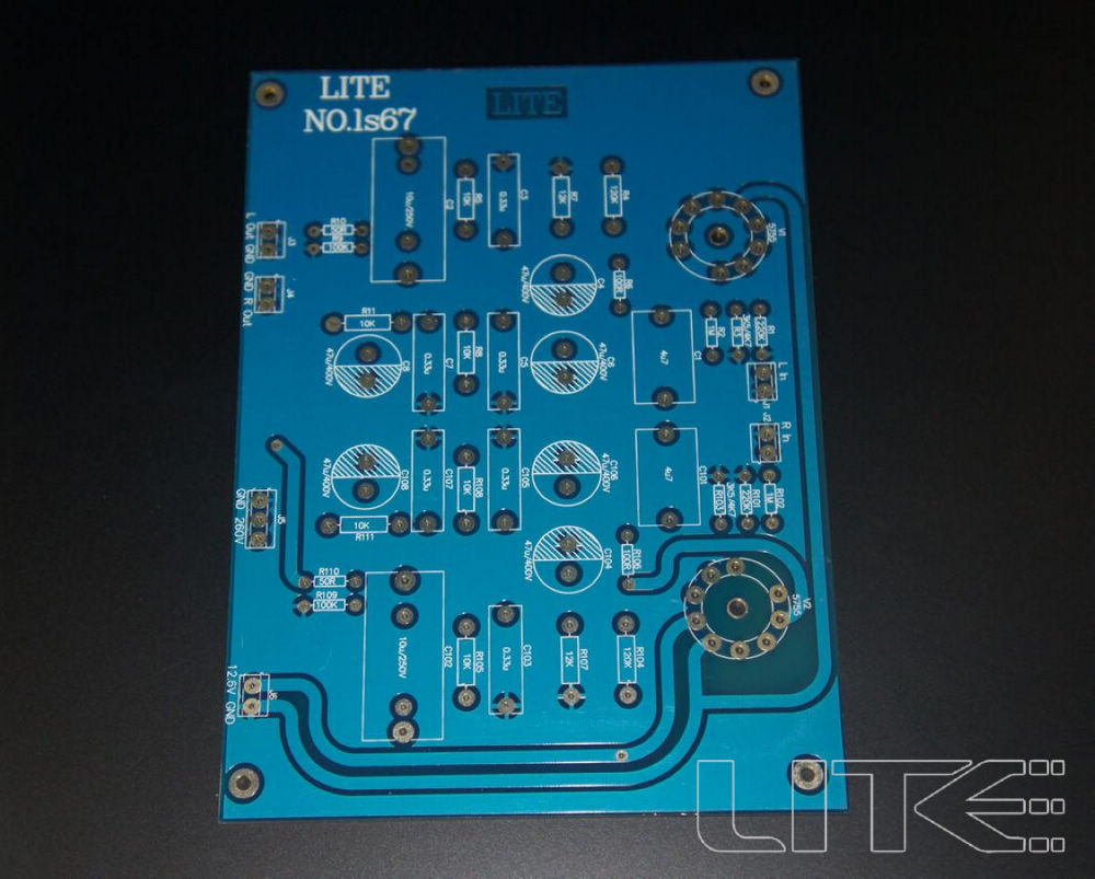 Lite Ls29 Pcb Tube Buffer Preamplifier Board Pcb Based On Musical Fidelity X10-d Pre-amp Circuit Circuits