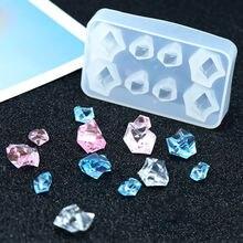 1 шт Прозрачная силиконовая комбинированная форма для поделок