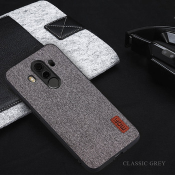 Soft TPU huawei mate 10 pro fabrics material full cover phone