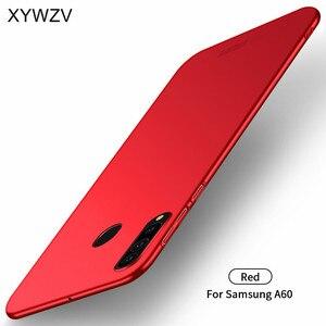 Image 2 - עבור סמסונג גלקסי A60 מקרה Silm יוקרה דק חלק קשיח מחשב מקרה טלפון עבור Samsung Galaxy A60 כיסוי עבור Samsung A60 Fundas