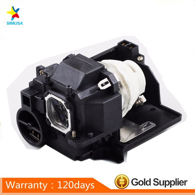 Original NP33LP  bulb Projector lamp with housing fits for  UM351W/UM361X/UM352W/UM352W-TM/UM352W-WK/UM351Wi-TM original cs 5jj1b 1b1 bulb projector lamp with housing fits for mp610 mp610 b5a mp615 mp620p w100