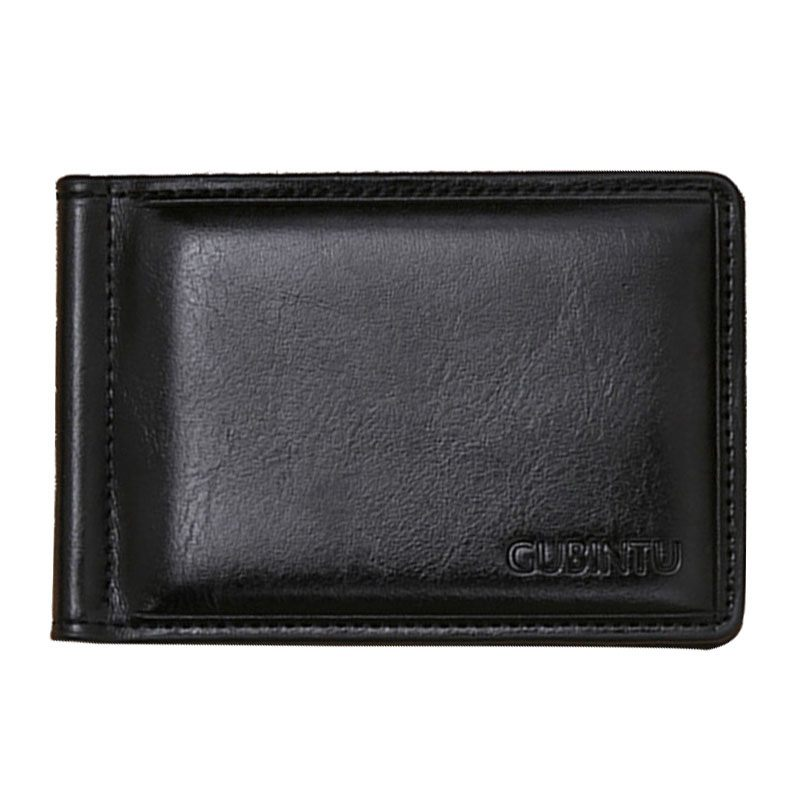 Famous TFTP brand men leather money clip wallet with pocket magnet portable man wallet with card lock pu leather wallet men luxury famous brand designer coffee money clip open clamp clip carteira magica bid083 pm49
