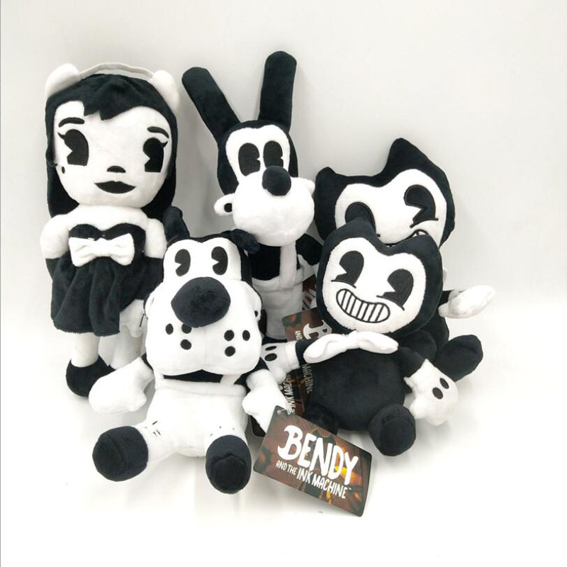 Game Bendy En De InkMachin Halloween Gift Plush Toy For Gift