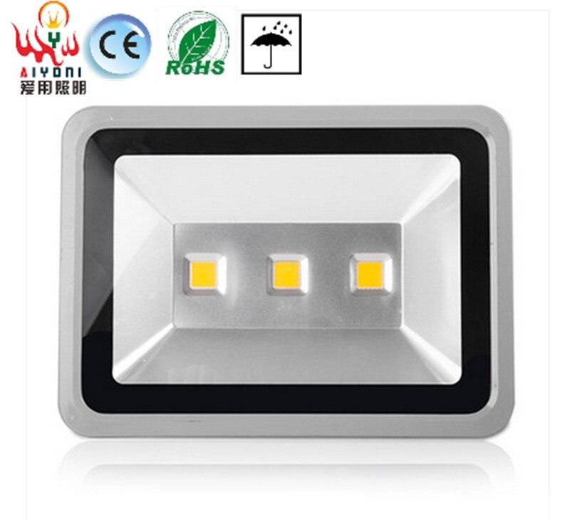 Высокая мощность LED150W лампы водонепроницаемый открытый рекламные вывески лампа проектора прожекторы высокого класса Светодиодная лампа