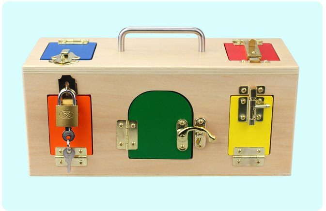 1 3 years Unlock toy Montessori teaching aids Early Childhood Intelligence Educational Toys Kids Learning & Education Kids Gift - 2