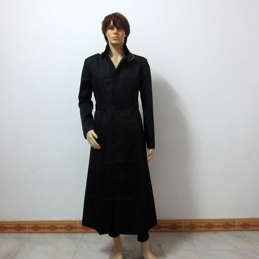Tokyo Ghoul Arima Kisho Trench Long Coat Christmas Halloween Uniform Outfit Cosplay Costume Customize Any Size