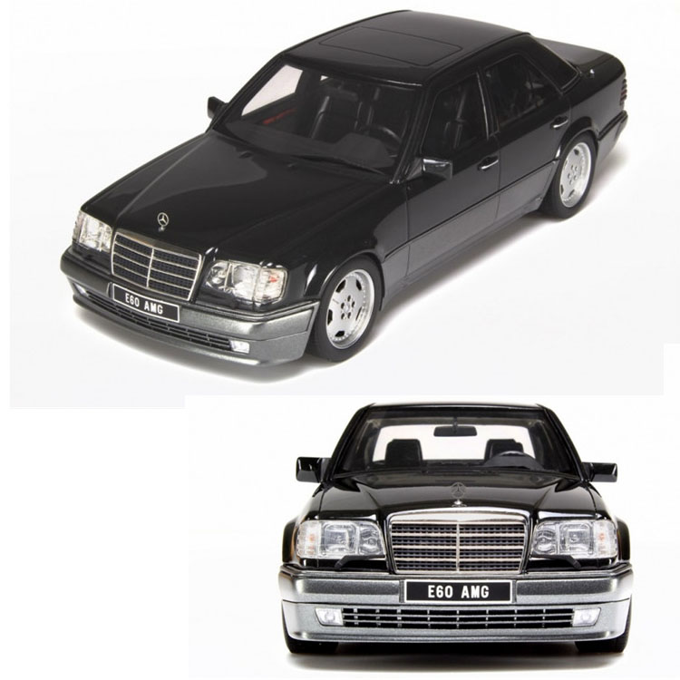 1 18 otto e w124 e60 amg mercedes benz benz class car for Mercedes benz toy car models