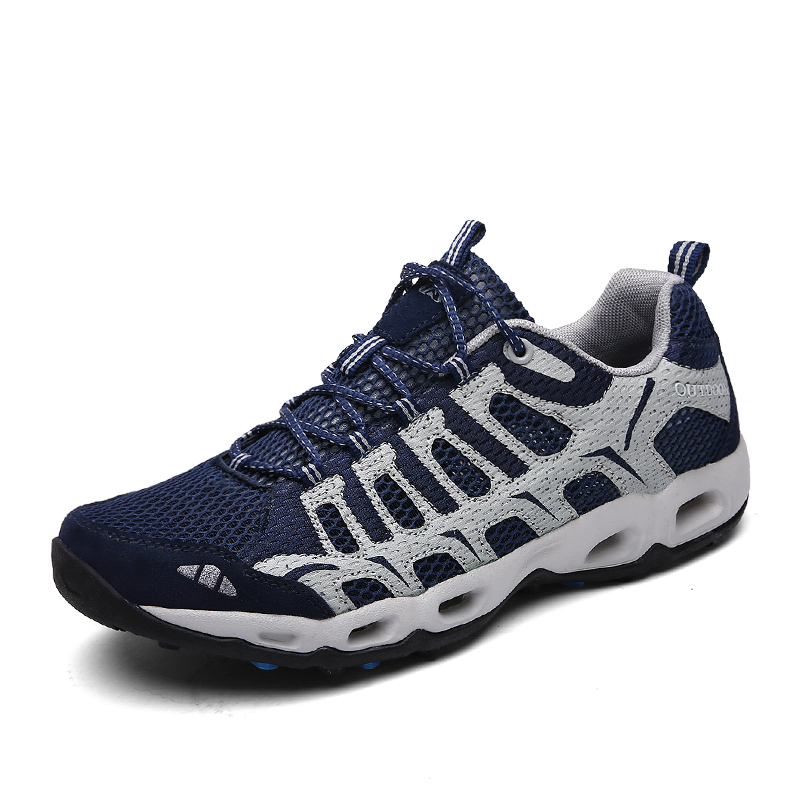 Brand Men Sneakers Aqua hiking outdoor shoes men women spring summer mountain climbing trekking sport shoes non-slip Breathable
