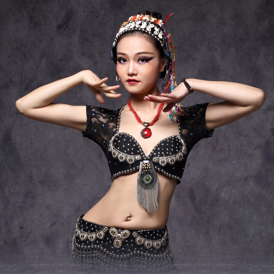 Tribal sexy back ladies shirt original branded excess overruns clothes for her women shirt