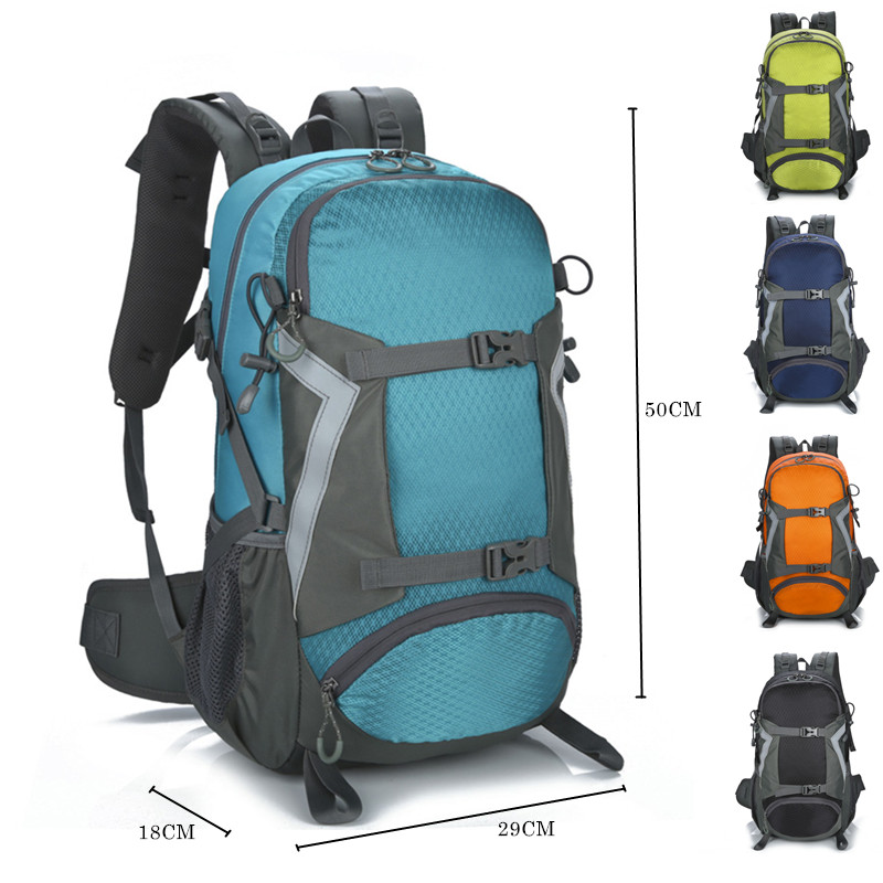 Outdoor Bags Hiking Backpack 30L Waterproof Anti-tear Nylon Quality Bag Men Women Climbing Travel Cycling Sports Backpack