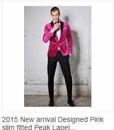 Pink Velvet Tuxedos