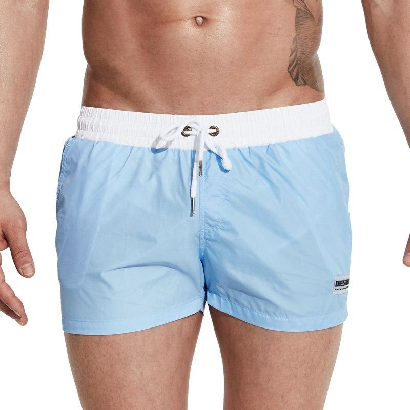 c33baf5ce0 Aliexpress.com  Comprar Desmiit traje de baño hombres 2017 verano natación  pantalones cortos para hombres Surf Swim Wear Shorts playa troncos luz  delgada ...