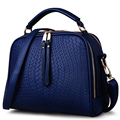 2017 Spring Women Bags Weave Tassel Women PU Leather Handbags Women Shoulder Bag Ladies Casual Women Messenger Bags New  SA026