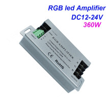 360W led amplifier DC12V 30A RGB strip amplifier DC12-24V for 5050 led strip light signal amplifier