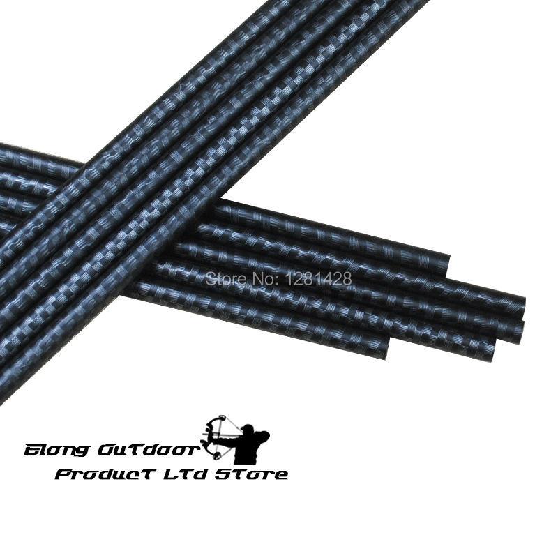 "12PCS DIY 32/"" Spine 340 Pure Carbon Arrow Shaft bolts Hunting /&Shooting Archery"