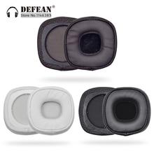 Almofada para fones de ouvido, substituição de forro acolchoado para fones de ouvido marshall major 3 com fio/bluetooth