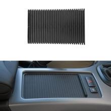 Vodool console central do carro capa slide rolo cego suporte de copo água cortina acessórios interiores para bmw x5 e53 1998 2006