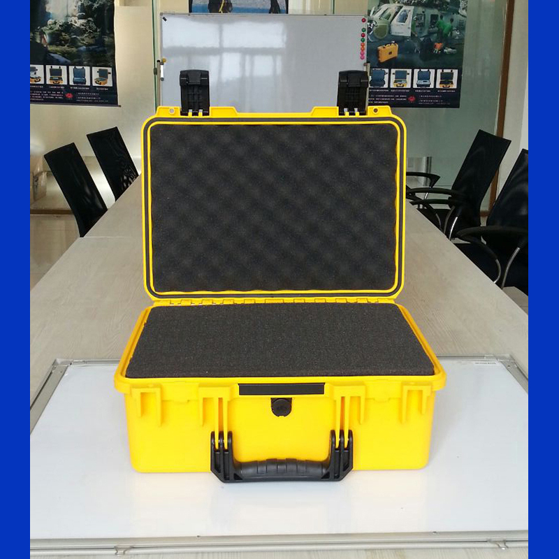 high quality Tool case toolbox waterproof equipment case Impact PP tool case tool box with Sponge Foam 462*334*170 mm