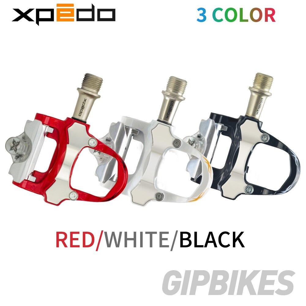 Wellgo Xpedo XRF07MC 235g alliage de magnésium vélo de route clipless Pédale avec 2 paires look keo Compatible crampons autobloquant pédale