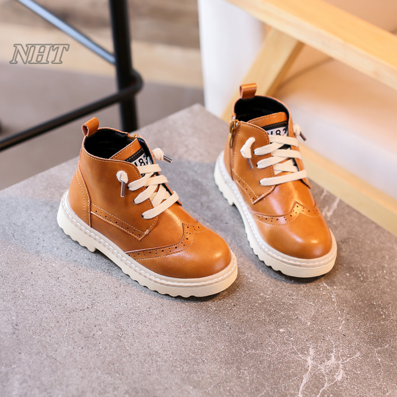 exclusive designer shoes children British stylish girls boots unisex boy footwear kid ankle casual shoe 26