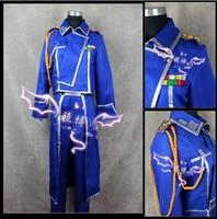 Fullmetal Alchemist Roy Mustang Cosplay Costume
