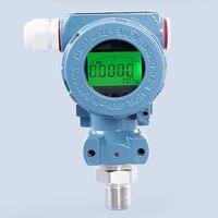 Transmissor de pressão difundido 4 20ma do silicone do transmissor de pressão de 2088 digitas do lcd sensor de pressão de aço inoxidável de 0.1 0 100mpa|Transmissores de pressão|   -