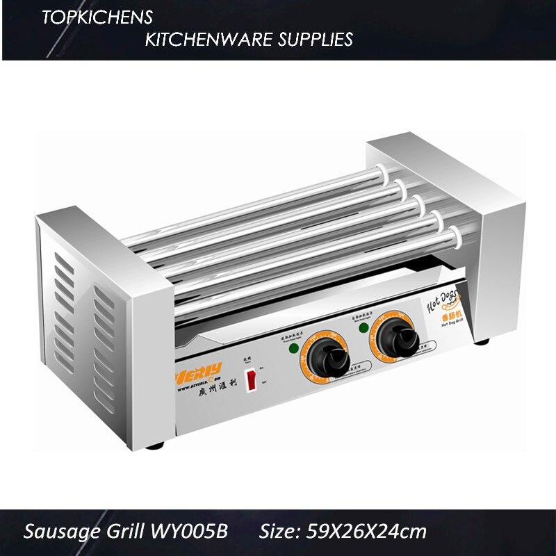Hot dog grill Hot -dog Maker,Hot-Dog machine_Sausage Grill WY-005B hot