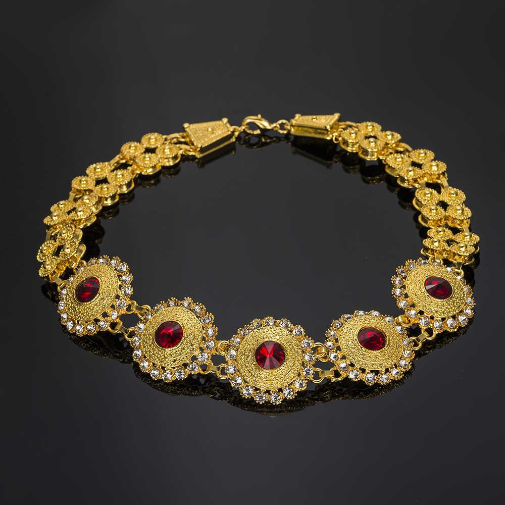 MUKUN 2018 moda afryki zestawy biżuterii dla nowożeńców ślubne prezent kostium big nigeryjczyk ślubne zestaw biżuterii Dubai złoty kolor zestaw biżuterii projekt