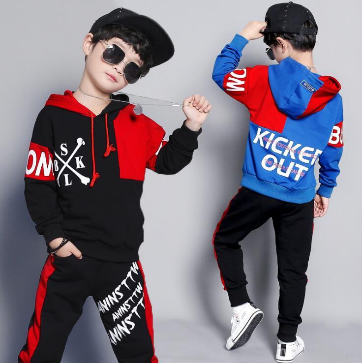 2019 new big boys clothing set hip hop baby kids cotton. Black Bedroom Furniture Sets. Home Design Ideas