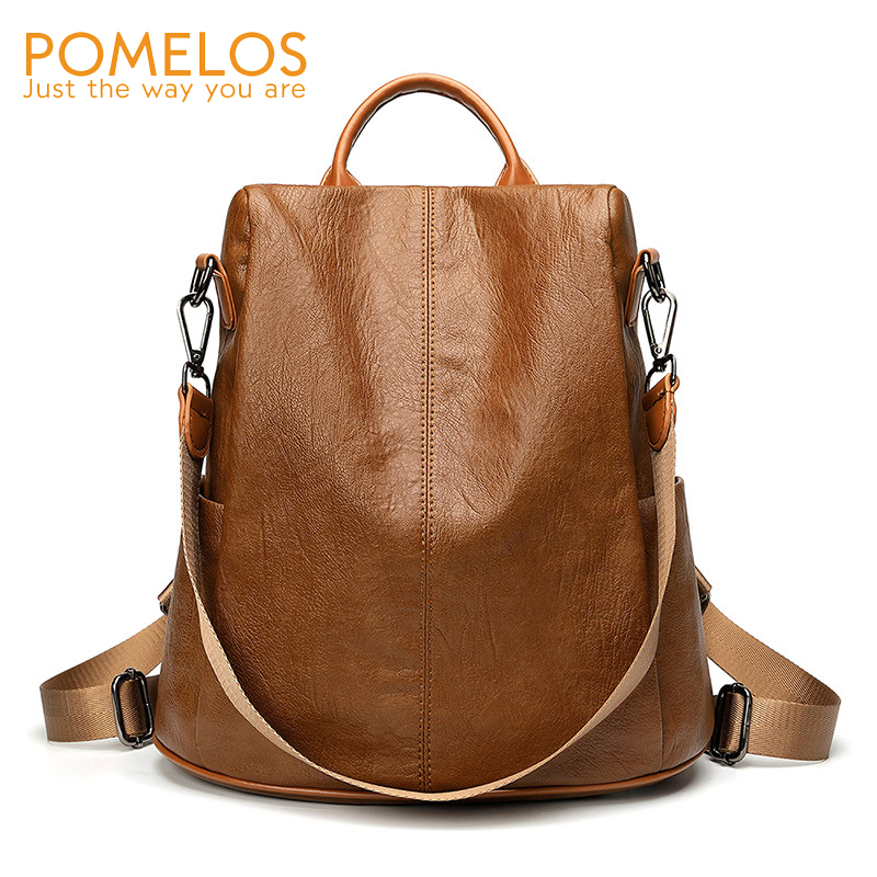 Pomelos Classic Backpack Women Designer Brand New Arrival Anti Theft Backpack Schulrucksack Backpack For School Teenagers Girls