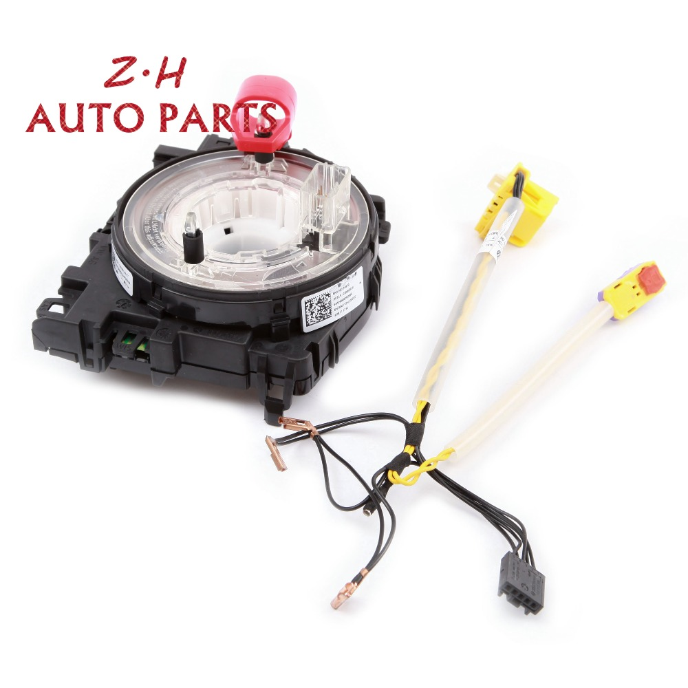 New Multifunction Button Steering Wheel Module Control Unit  U0026 Harness Kit 5k0 971 584 C For Vw