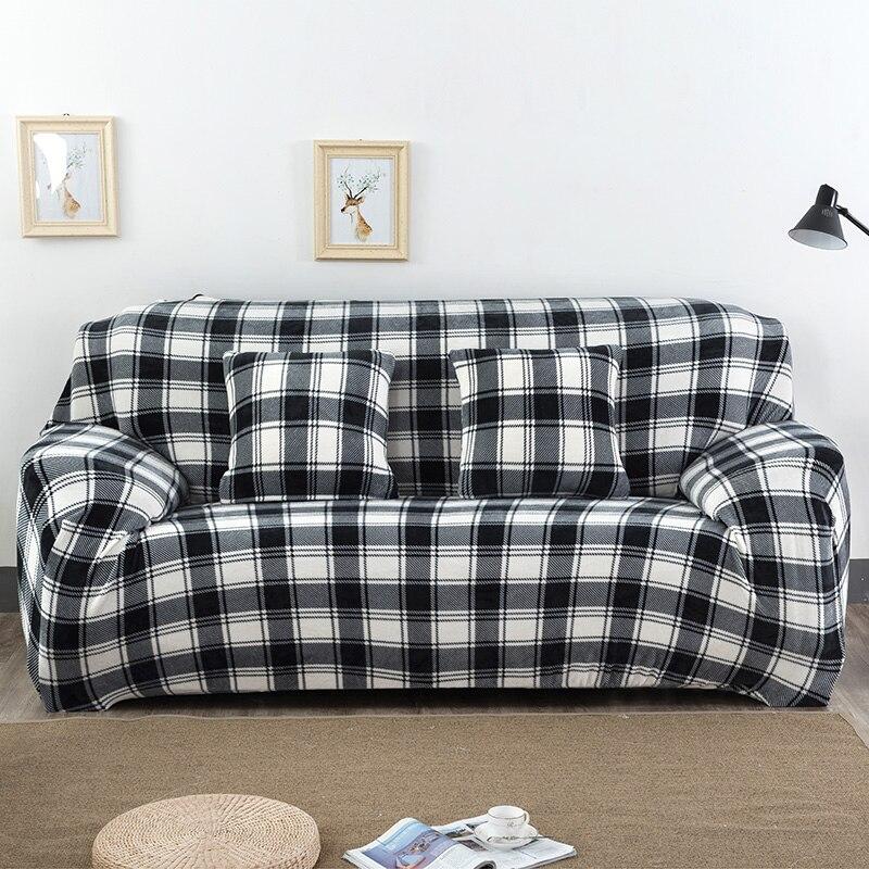Black Sofa Slipcovers L Shaped Stretch Sofa Covers Chair