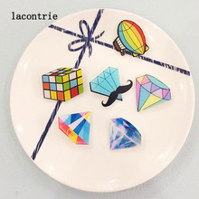 Diamonds icon icons badges shaped badge pins pin diamond acrylic backpack