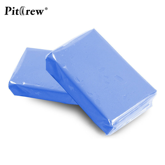 (1pieces) Car washer Blue Car Clay Bar 100g Auto Detailing Magic Claybar Cleaner Car Accessiores Sponges