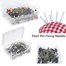Pearl Needle Round Head Clothing Pin Sewing Pins 100pcs 37mm DIY Dressmaking Decoration Crafts Accessories