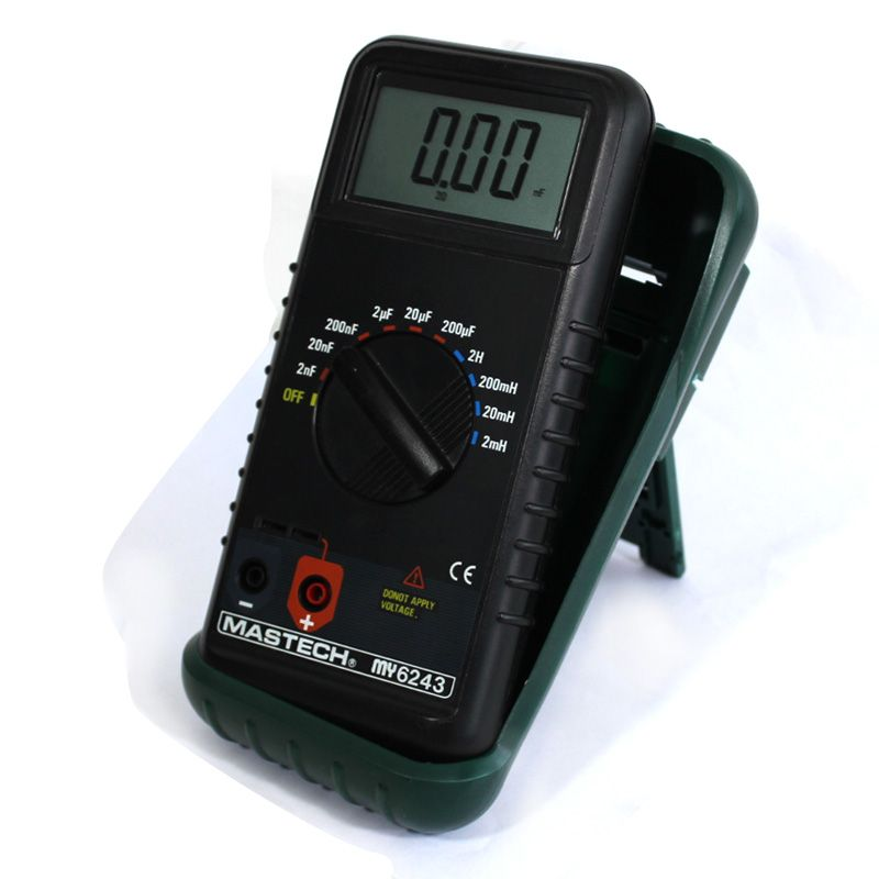 MASTECH MY6243 Multimeter Digital C/L Inductance Capacitance Meter Tester mastech my6243 3 1 2 1999 count digital lc c l meter inductance capacitance tester
