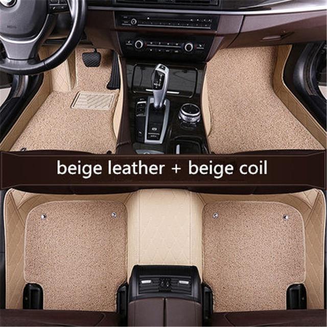 car floor mats for Tesla all models Model S Model X car styling accessories automobile foot covers Custom foot Pads Car carpet
